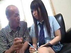 Amateur Asian teens playing nude