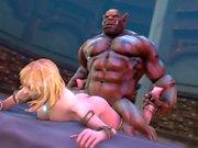 HMV 3d SFM Jaina Proudmoore Warcraft Hentai Compilation
