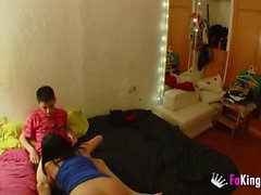 Babysitter teaches Jordi how to masturbate