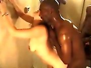 Big black cocks with white couples