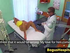 european patient creampied by doctor movie