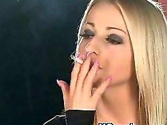 Humble Girl Smoking Wild XXX