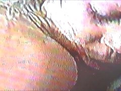 early 90's hubby videos wife with 2 BBC's