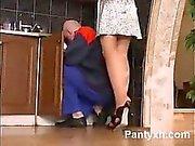 Versatile Girl Pantyhose Nude Wild