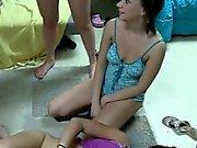 College Girls Twerk Pretty Asses In Panties At Party