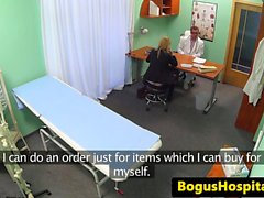 Real euro amateur pounded by her doctor