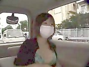 Masked slut with lovely tits has a horny guy deeply drillin