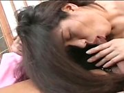 Blowjob from japanese milf with big tits