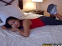 Asian Hooker Sucks A White Dick