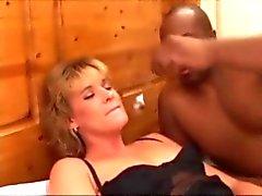 Slut fucked then eats spoonful of cum