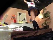 Japanese teen on voyeur cam