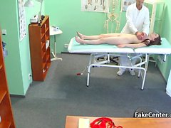 Doctor spread spunk all over teen