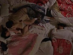 Chinese amateur threesome lucky guy Part 2
