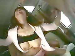 Japanese Amateur Fuck On A Bus