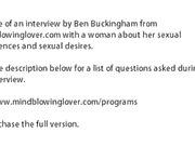 SEX ADVICE LIVE INTERVIEW with Ben Buckingham Sex advice for men