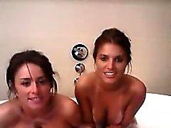 Amateur lesbians teen naked on webcam