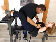 Ultra Sexy French Apolline tickled 2 hours