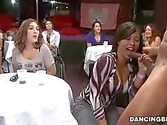 Well hung stripper eats pussy and receives blowjob