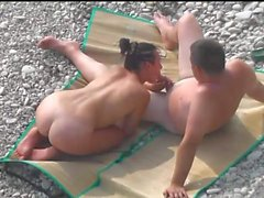 Kama Sutra on the beach Doggy-style 4