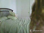 Very Hot Amateur redhead 19yo Teen BBC fuck on Webcam