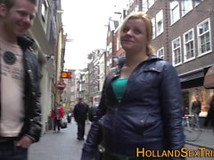 Dutch hooter tits spunked