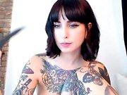 Dude loves to jerk his dick on webcam