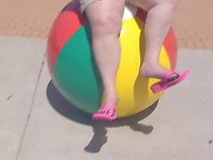Beachball Flip-flop Dangle