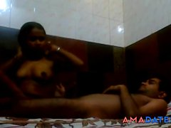 12min Desi college couple