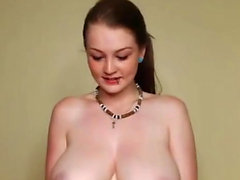 Teen Lets Big Tits Hang