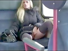 Amateur german public swallow