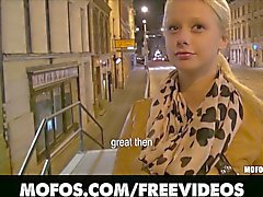 Cute czech teen anals for cash street pickup