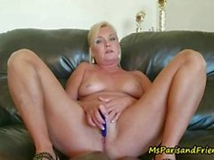 Mommy Shows Her Son Her Pussy Toys