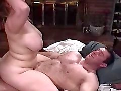 Lani Lainey and guy with muscles
