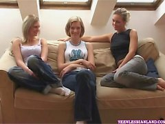 One of these girls, Daisy, is a genuine first timer when