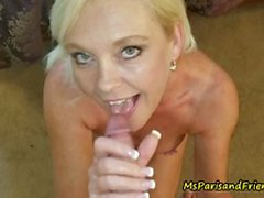 Mature blonde Ms Paris Loves a Cock in Her Ass