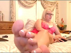 Violetbliss 24min feet soles show