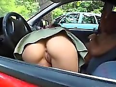 German Couple Having Sex In Their Vehicle