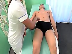 Pussy creampie after hot massage