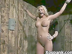 Juicy Spanking Wild Bitch In BDSM