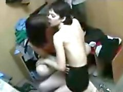 fun in changing room
