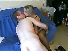 Hot French Lovers Making Love On Film