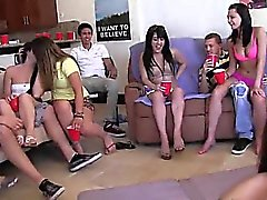 Teen teens enjoying swingers action