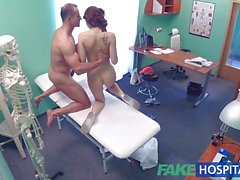 Fake Doctor performs sexual acrobatics