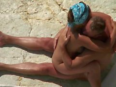 Mature Beach Fun Play.avi