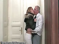 Sexy blonde babe gets horny making out part6