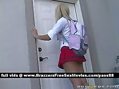 Two amazing schoolgirls go to the teachers office