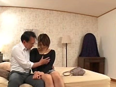 Hot and busty Japanese slut enjoy every blowjob quite a lot