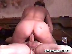 Amateur mature couple homemade video