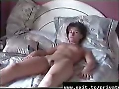 Home movie my wife Carina in 1995