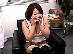 asiansexporno - Japanese lady gets fooled in beaty saloo